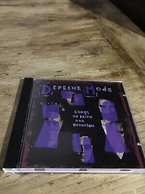 Cd - Songs Of Faith And Devotion [1993] - Depeche Mode - Canadian Cd Import