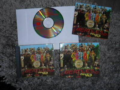 The Beatles Sgt.peppers Lonely Hearts Club Band 1987 Emi  Uk Cd Lovely Booklet.