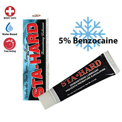 Stay-Hard Desensitizing Cream Men Delay Numbing Prolong Benzocaine-Sex Lubricant