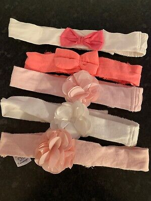baby girl headband bundle 3-9 Months