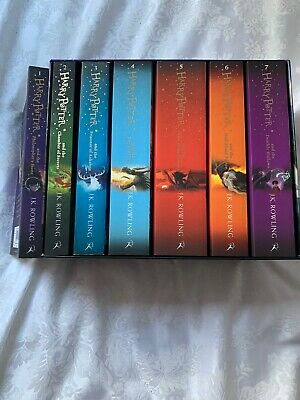 Harry Potter Book Box Set The Complete Collection by J.K. Rowling Paperback