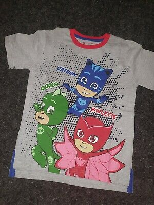 Boys Pj Masks T shirt Age 8-9 Years Bnwt