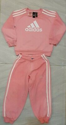 Girls Adidas Tracksuit Age 4-5 years