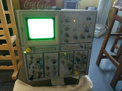 Tektronix 7934 Storage Oscilloscope with modules from a working environment