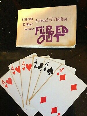 Flipped Out (orig. Emerson & West 1977)--maybe the best packet twist ever?  TMGS