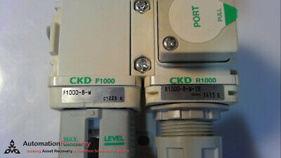 Ckd Corp. F1000-8-W With Attached Part Number R1000-8-W-T8,, New #270036