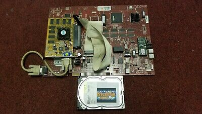 Golden Tee Complete 2006 Jamma Arcade Red Circuit Board & Hard Drive Pcb #447
