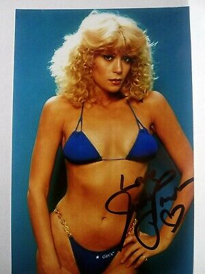 JUDY LANDERS  Authentic Hand Signed Autograph 4X6 Photo - SEXY ACTRESS