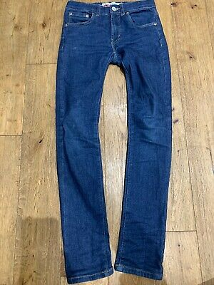 Levi's 510! Boy's Skinny, Stretch, Blue Denim Jeans, size 12 Years
