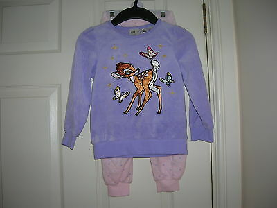 Velour Pyjamas DISNEY for Girl 4-6 years H&M