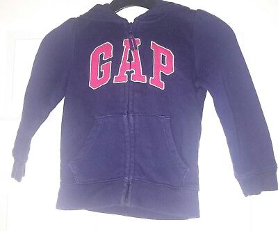 gap girls hooded top aged 3 yrs