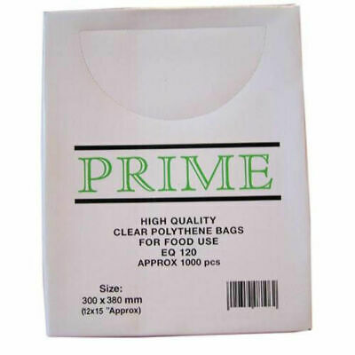 Clear Poly Weighout Bags (12x15'') 1000Pack