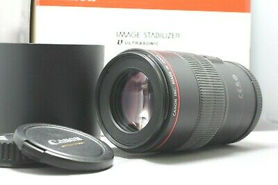 Canon EF 100mm f/2.8L IS USM Macro Camera Lens (3554B002) Excellent #3952847