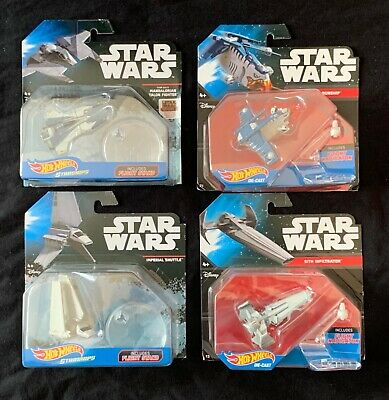 Hot Wheels Star Wars Starships Fenn Rau Mandalorian Talon Fighter + Lot
