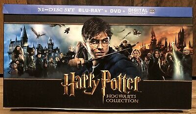 + Harry Potter Hogwarts Collection - 31 Discs Edition Bluray + DVD 2D 3D Film +