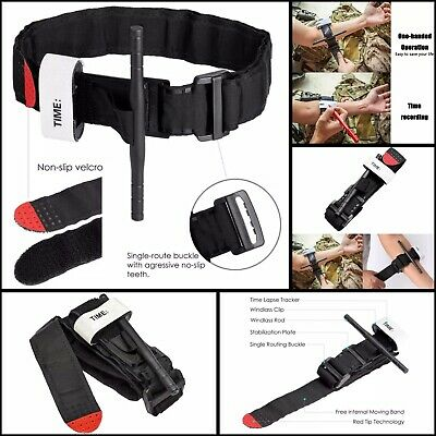 US One Hand CAT Tourniquet Combat Application First Aid Handed Emergency Outdoor