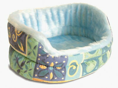 Fur-lined Bed With Removable Cushion 38cm