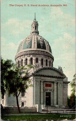Vintage Postcard 1965 The Chapel U.S. Naval Academy Annapolis Maryland 1 Cent