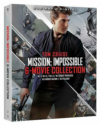 Mission: Impossible - 6 Movie Collection [Blu-ray + Digital] - Brand New, Sealed