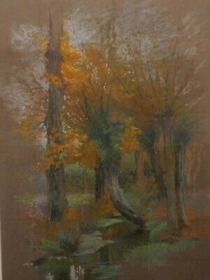 Interesting Old Painting With London Gallery Labels - H Margetson - Rare - L@@K