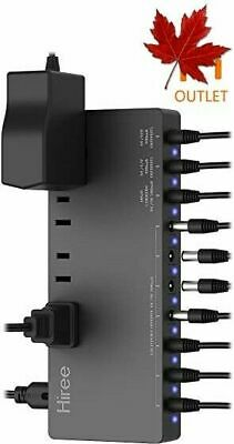 Hiree Guitar Pedal Power Supply Adapter Station Distributor 10 Isolated DC Ou...