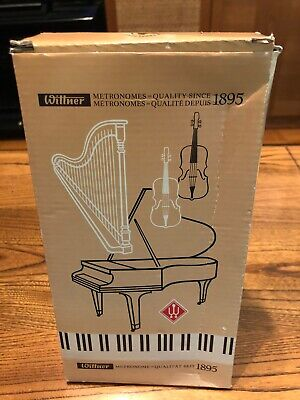 New In Box Wittner Metronome Plastic - Mahogany Grain