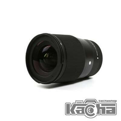 SALE Sigma 16mm f/1.4 DC DN Contemporary Lens for Canon EF-M