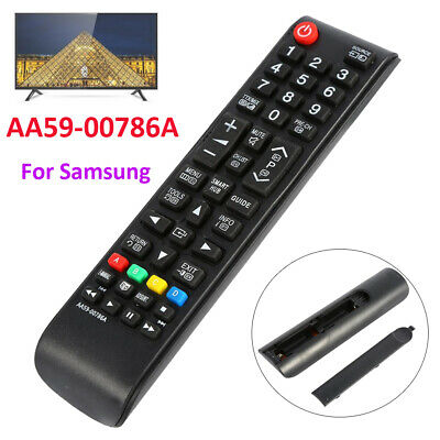 LCD TV Remote Control Controller Replacement For Samsung AA59-00787A Black