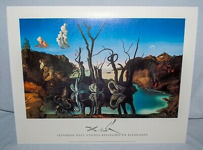 Z1513 Salvador Dali Ship with Butterfly Sails Hot Silk Poster 36x24 40x27