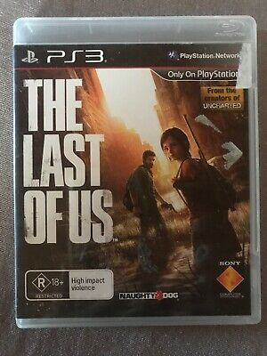 The Last Of Us - PS3 Game in case