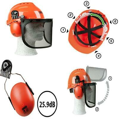 Oregon 562412 Yukon Chainsaw Safety Helmet with Protective Ear Muff and Mesh...