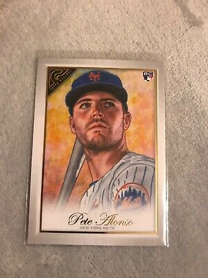 2019 Topps Gallery Pete Alonso RC Rookie #24 - New York Mets