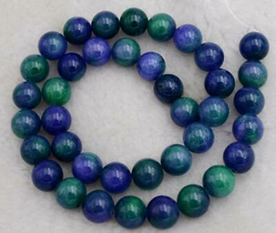 New Rice-shaped 8X12mm Azurite Chrysocolla Gemstones Loose Beads 15/""