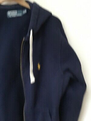 Mens polo by Ralph Lauren, Hoodie,M/M Blue