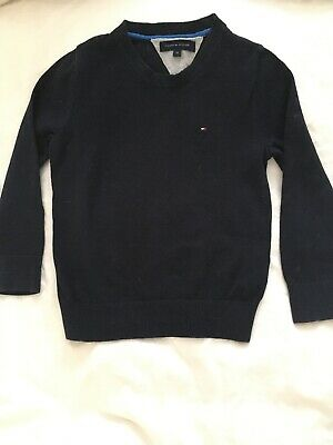 Boys Smart Tommy Hilfiger Jumpers X2 + Couche Tot Shirt - Romany - Classic