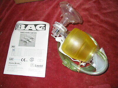Laerdal Adult Silicone self inflating Resuscitator 845021 childs   oxygen mask