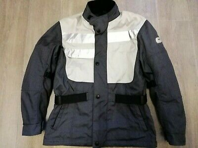 BMW Motorrad Voyage 2 Motorcycle ARMOURED Charcoal Grey Size Large EXCELLENT