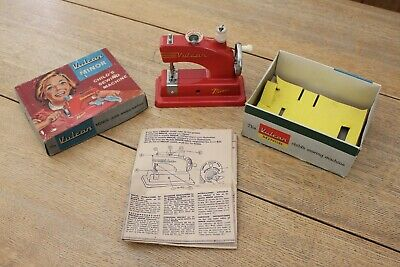 Vulcan Minor Childs Sewing Machine Chiltern Product Boxed + Insert Instructions