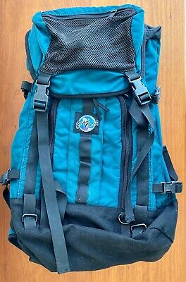 Eagle Creek World Traveller Convertible Backpack Teal Green Woman's Bag 20 L