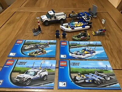 Lego City 60045 Police Patrol 100% Complete With Instructions