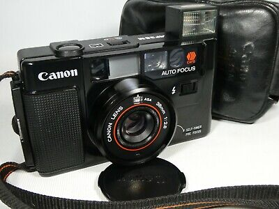 Old Vintage CANON  AF35M  Compact 35mm Film Camera