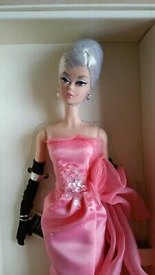 🌟 Silkstone Glam Gown Barbie Doll BFMC Fashion Model Collection Gold Label NRFB