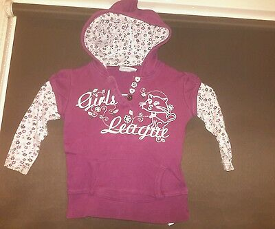 Dopodopo baby girls hooded top aged 18 / 24 mths