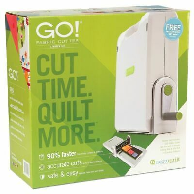 AccuQuilt Go Fabric Cutter Quilt Making System 55100