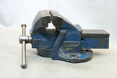"""Vintage Tool Record No 1 Engineers Vice 3"""" Jaws"""