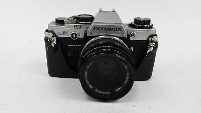 Olympus OM 10 35mm SLR Film Camera With Protective Case #708