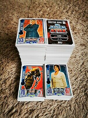 DR WHO ALIEN ATTAX 2013 BASE INDIVIDUAL CARDS 79-99 aliens