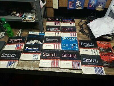 16 Scotch Recording Tape