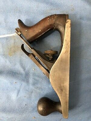 Vintage Antique Stanley Bailey No 3 Hand Plane Corrugated Sweetheart