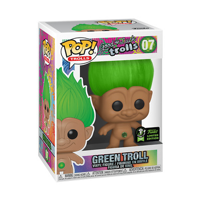 Green Troll Funko Pop 2020 ECCC Official Sticker LE + Protection
